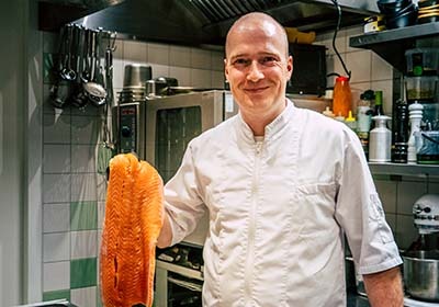 Rutger Rodenburg Bistro de Stadshoeve Chef-Kok