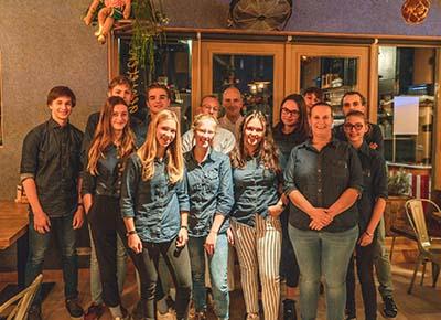 Team foto Bistro de Stadshoeve
